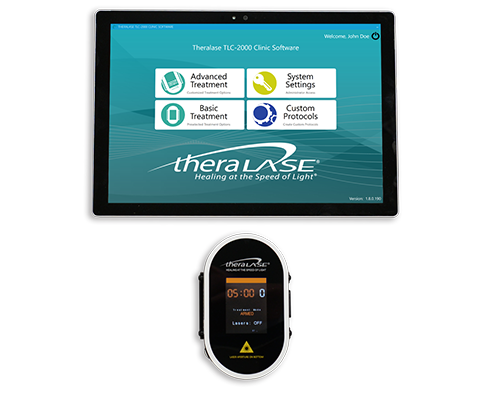 photodynamic therapy theralase TLC 2100