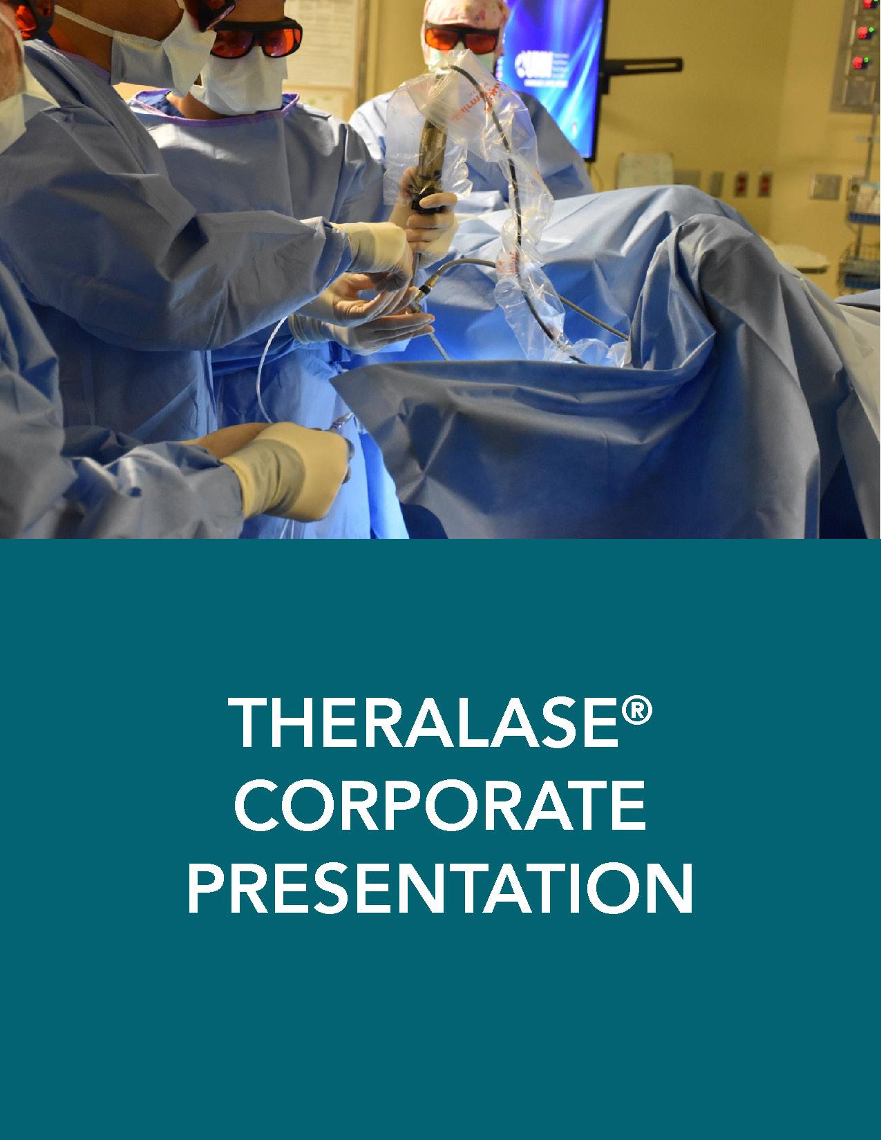 Theralase corporate presentation
