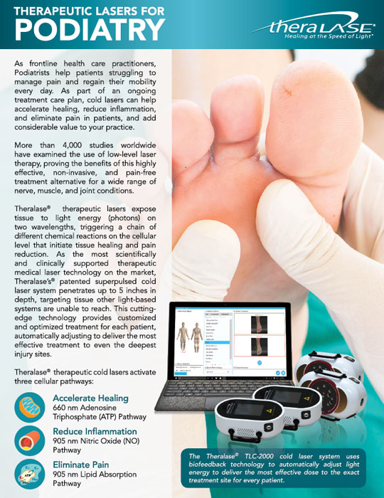 therapeutic lasers for podiatry
