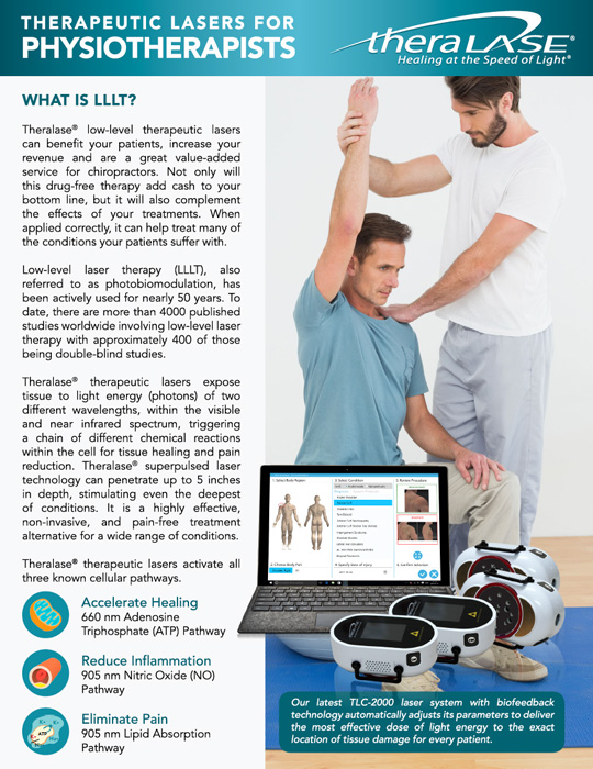 therapeutic lasers for physiotherapists